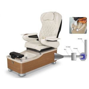 Chi Spa 2 Pedicure Chair Air Vent