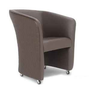 Brown Chiq Tube Chair - PediSpa.com