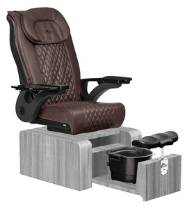 Pure II Portable Pedicure Spa Chair - No Plumbing