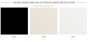 Cleo Pedicure Chair Color by J&A