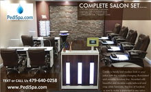 PSD 400 Pedicure Spa Chair Package
