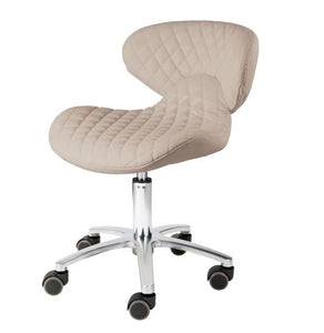 Diamond Pedicure Technician Stool - 4 Color Choices