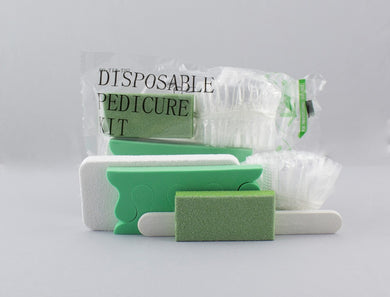Disposable Pedicure Kit - 5 Piece Kit - 200 Kits/Case