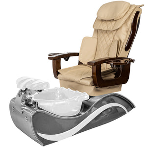 Elina Stainless Steel Pedicure Spa