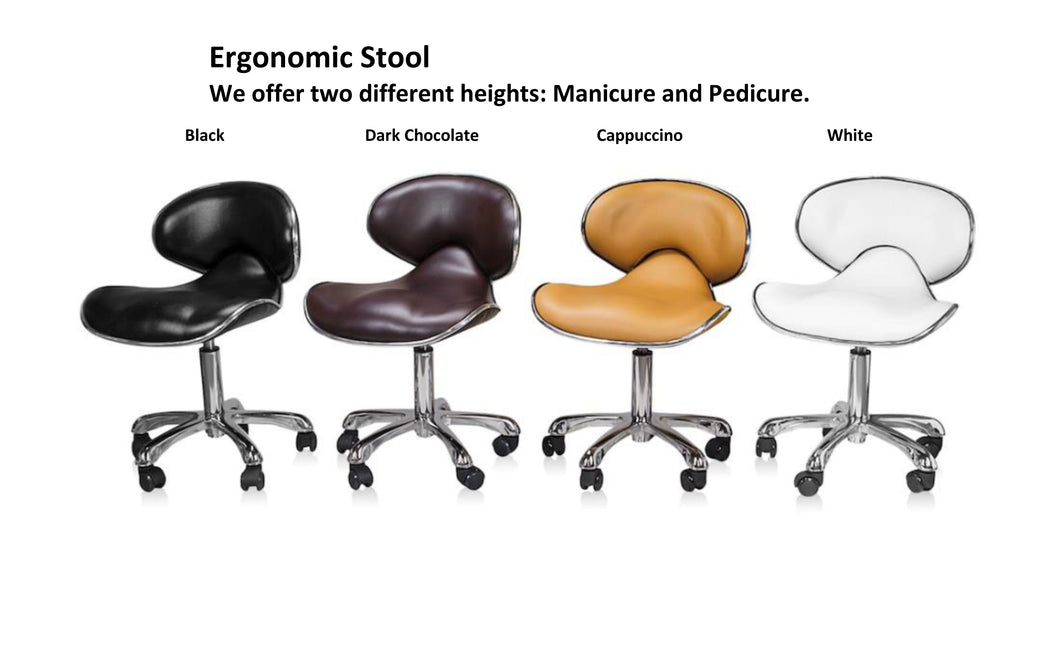 Ergo Stool - Manicure or Pedicure