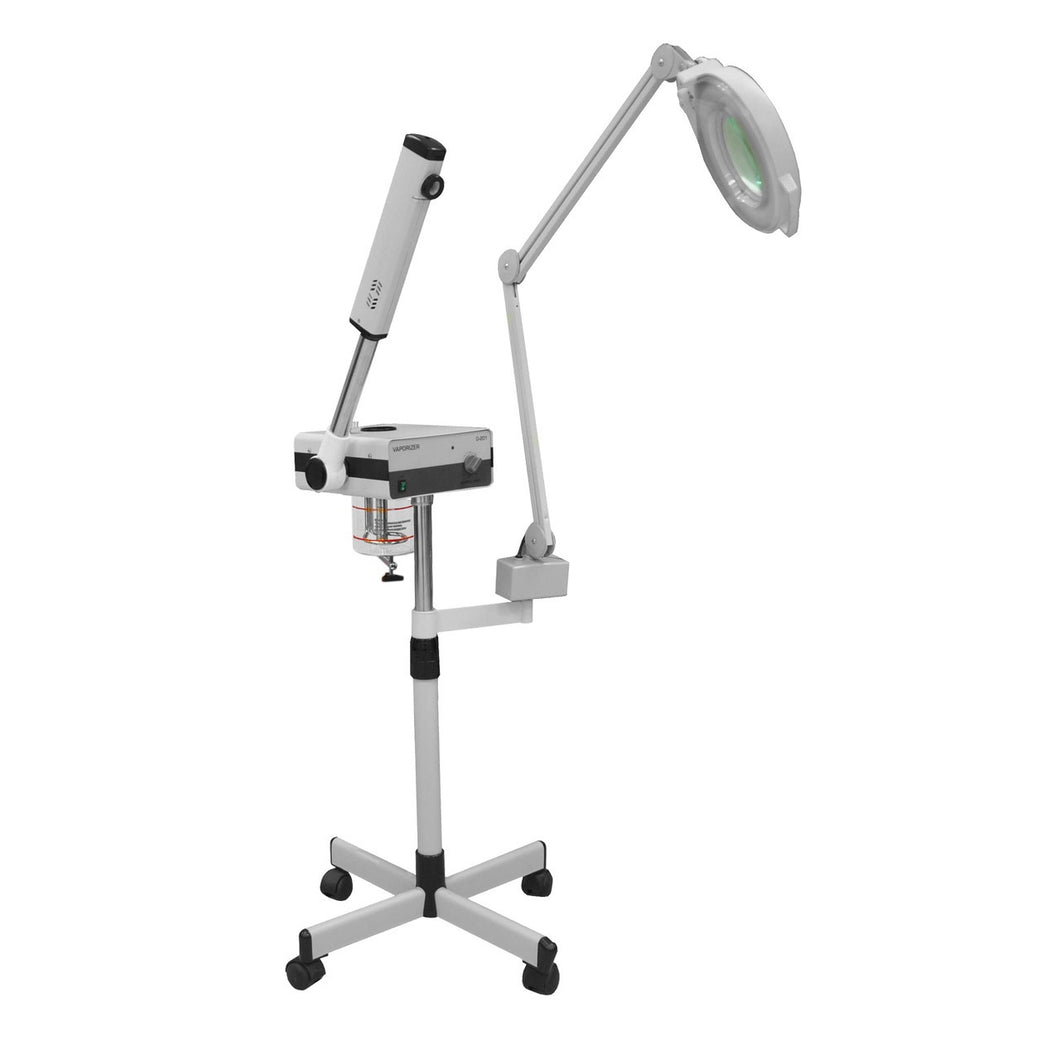 Facial Steamer with Magnifying Lamp - PediSpa.com