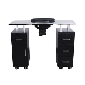Manicure Nail Table With Fan - Manicure Table