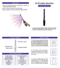 Portable Handheld UV Sterilizing Wand