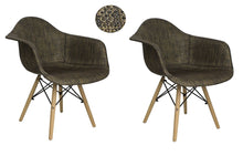 Bohemian Accent Leisure Chair (Set Of 2) Black/bronze - Chairs