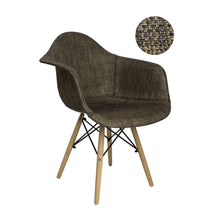 Bohemian Accent Leisure Chair (Set of 2) Black/Bronze - PediSpa.com