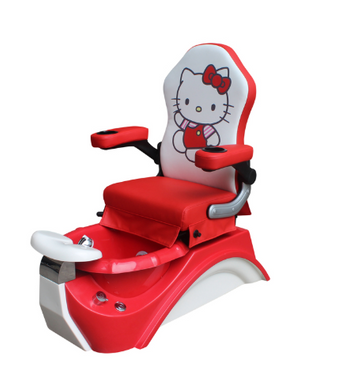 Hello Kitty Pedicure Spa for Kids - Red