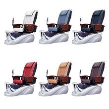 B8 Pedicure Spa Chair Color Options