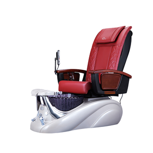 Red, B8 Pedicure Spa Chair