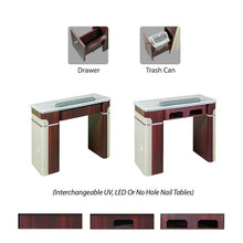 Manicure Table options for salons