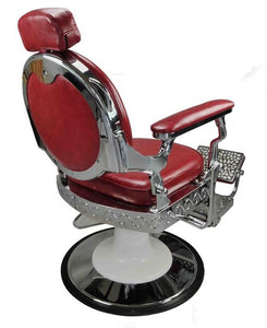 Red Barber Chair