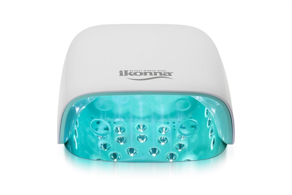 cordless, rechargeable UV LED nail lamp