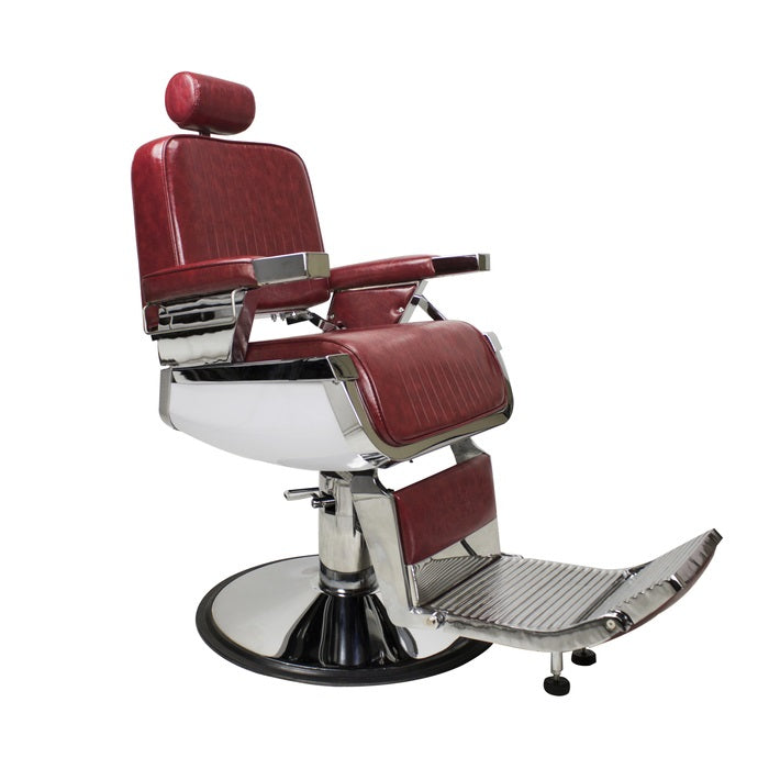 Crimson Red Barber Chair