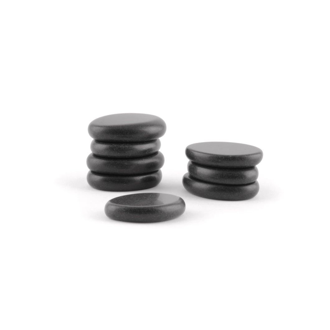 Massage Stones for Eyes Toes - Medium - Set of 8