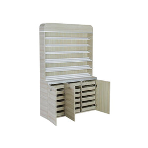 Nail Gel Dipping Powder Rack Cabinet