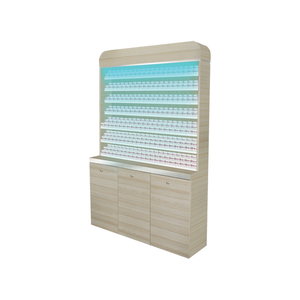 Nail Salon Dipping Powder Cabinet
