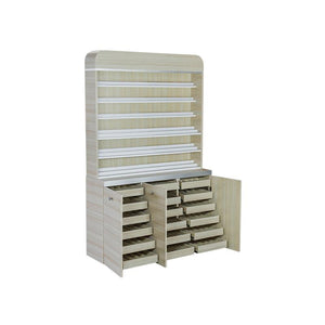 Ashley Dipping Powder Cabinet - Holds 830 Powder Jars - 2 Colors Available