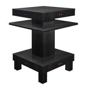 ND11 Square Nail Dryer Table for Salon - Black