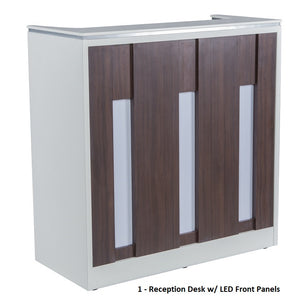 Reception Desk for PSD 400 Pedicure Spa Chair Package