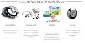 Pacific MX Pedicure Spa - Limited Time Sale ON SALE