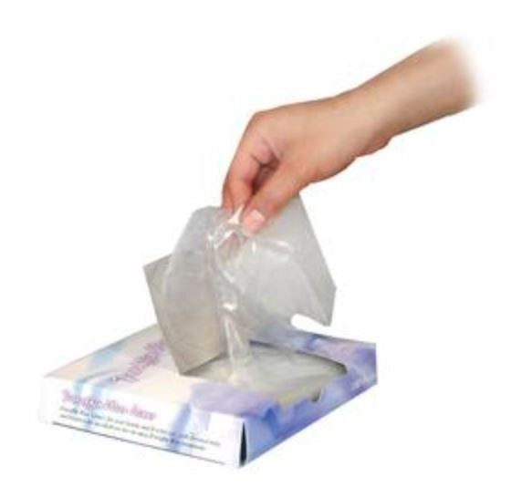 Paraffin Wax Liner Bags - 100 Count