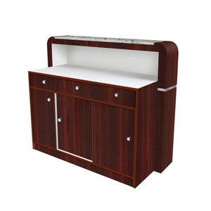 JAT Square Reception Desk - PediSpa.com