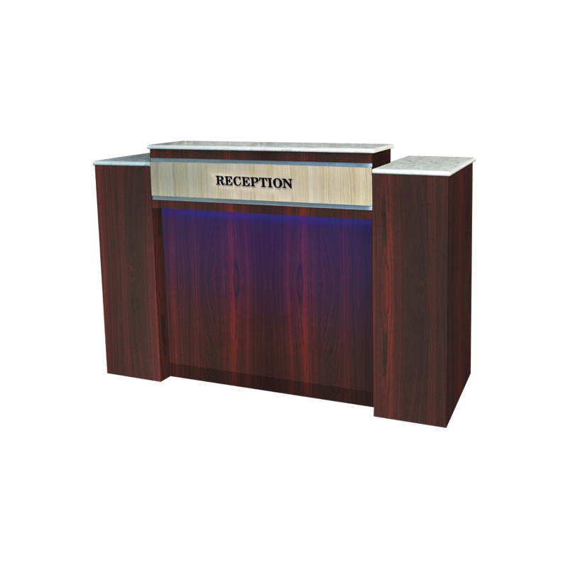 Business, Salon Reception Desk with LED Lighting