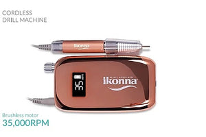 Rose Gold Rechargeable/Portable Nail Drill