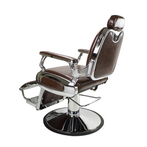 Roosevelt Barber Chair, Brown