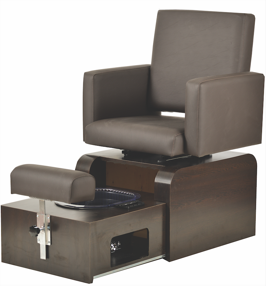 San Remo No Plumbing Pedicure Chair & Manicure Table ...