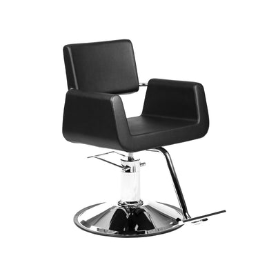 Black Cube Styling Chair - PediSpa.com