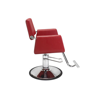 Red Cube Styling Chair - PediSpa.com