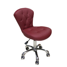 Memory Foam, Salon Technician Chair, Burgundy