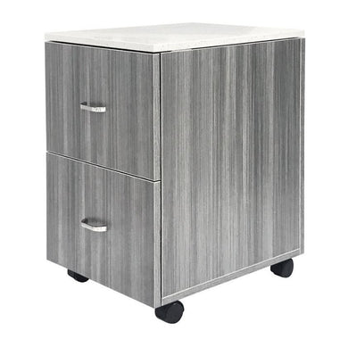 Salon Cart, Accessory Cart, Gray Salon Cart