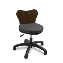Continuum Deluxe Wood Technician Chair - PediSpa.com