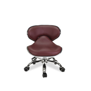 Red nail technican chair