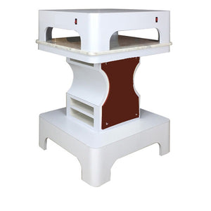 Quad White Mani Pedi Drying Station - 3 Colors