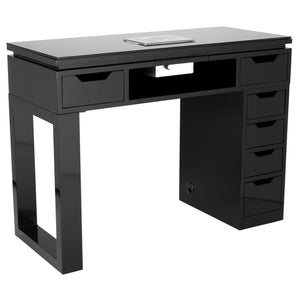 Valentino Lux Manicure Table - Black or White