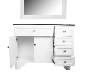 maybelle vanity hair styling station with mirror