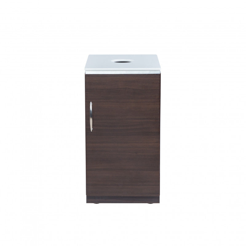 Mod Trash Waste Station - White or Walnut