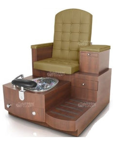 Paris Pedicure Spa Bench - PediSpa.com