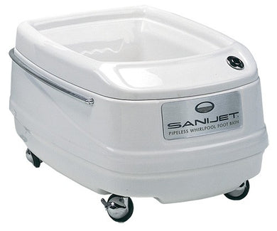 SaniJet Portable Pipeless Foot Bath - No Lifting Required