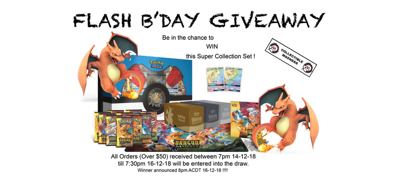 B'DAY GIVEAWAY