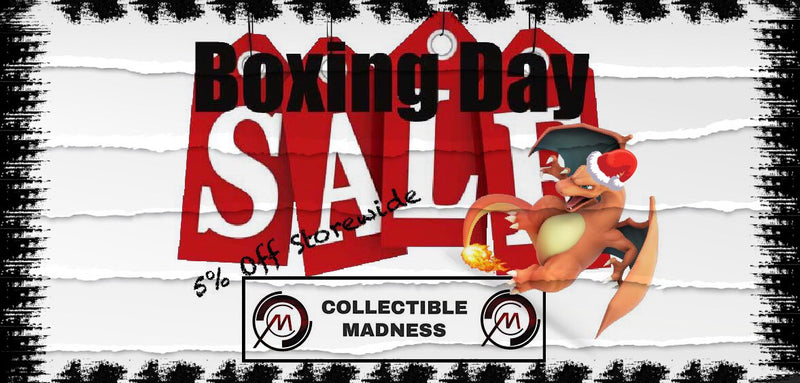 BOXING DAY SALE - 5% OFF