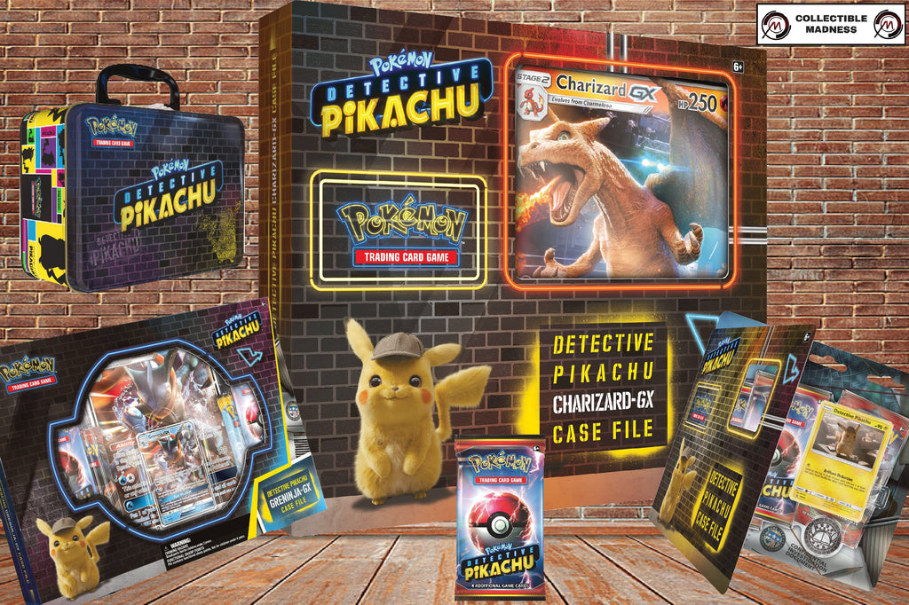 Detective Pikachu Tcg Products Officially Revealed Collectible