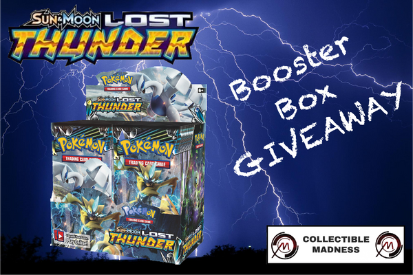 Lost Thunder Booster Box Giveaway